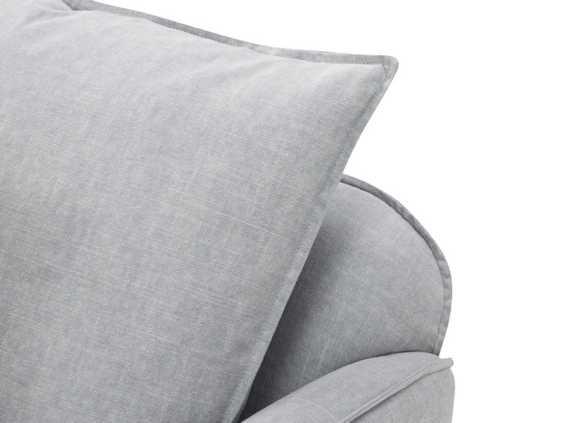 Smooch Deep Upholstered Love Seat Back Cushions