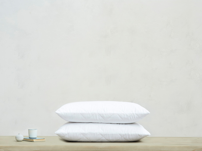Cotton Cover Zip Closure Pillow Protector