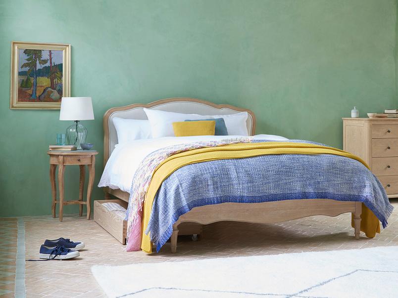 Mirabelle Wooden Bed Frame Bed