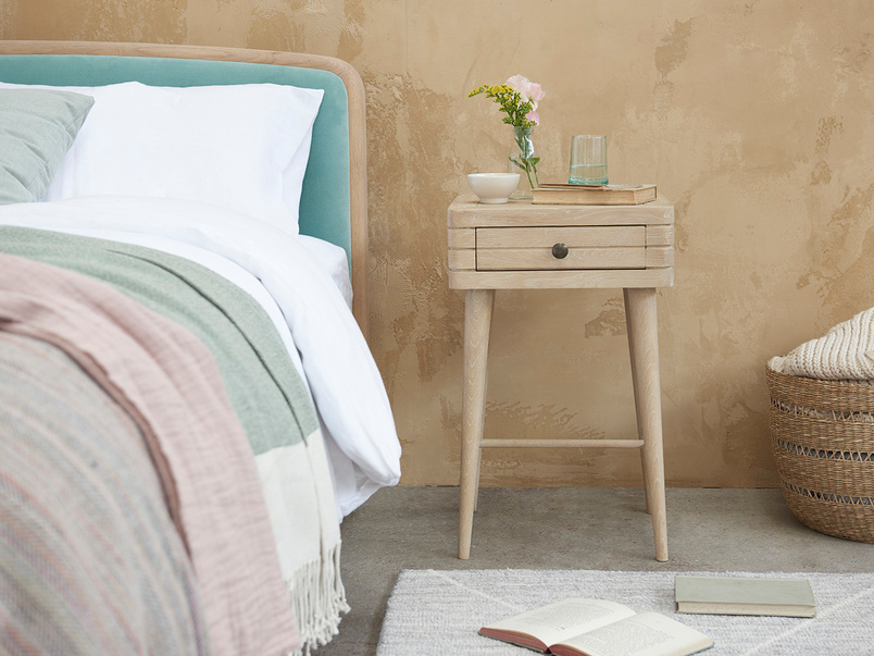 Little Groover Bedside Table with drawer