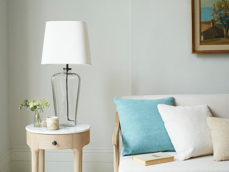 Bert Clear Rectangle Glass Table Lamp