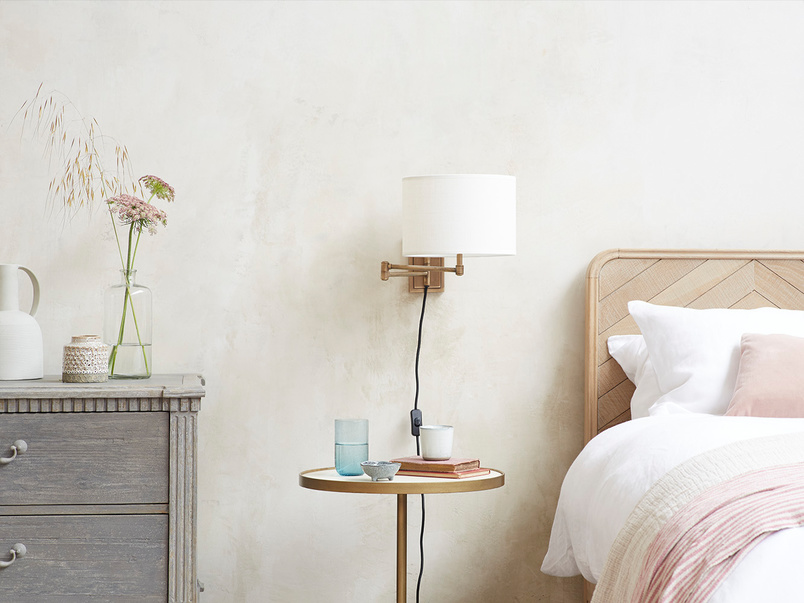 Page Turner Swing Arm Wall Mounted Lamp