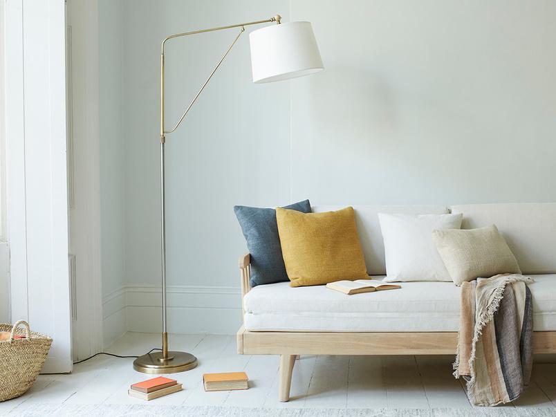 Yard Arm Adjustable Swing Arm Floor Lamp