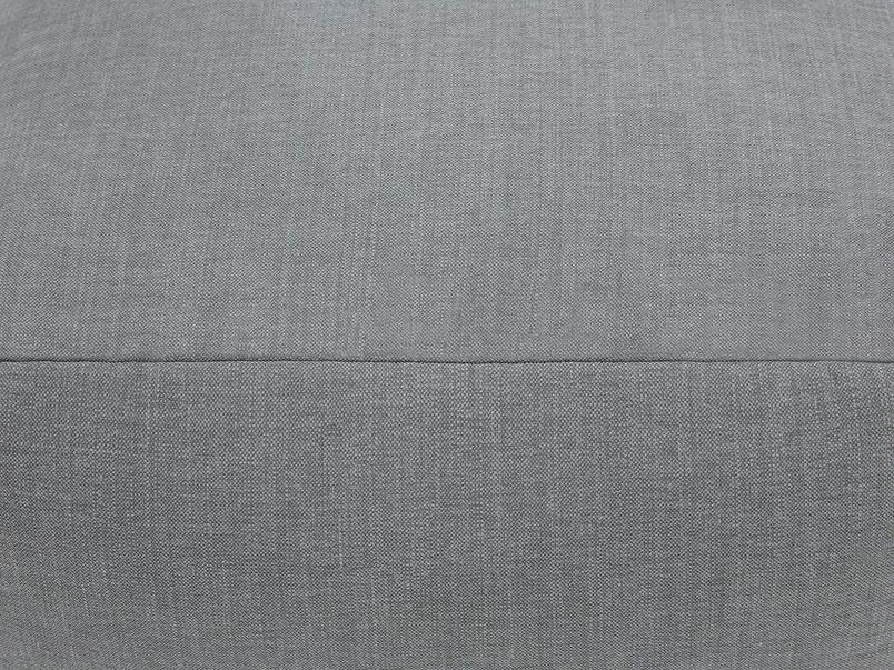 Layabout floor cushion footstool seam detail