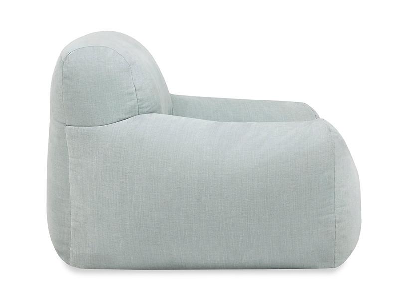 Layabout foam filled floor sofa side