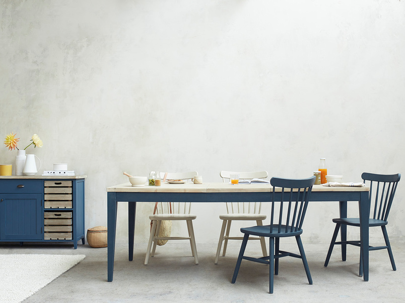 Park Up Wooden Farmhouse Dining Table