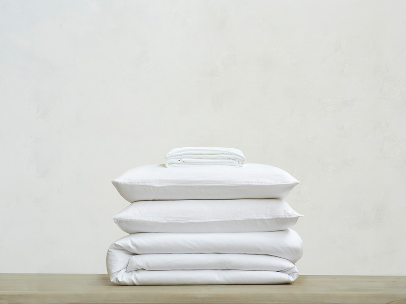 Lazy Cotton super soft pure cotton Bed sheets bundle in White