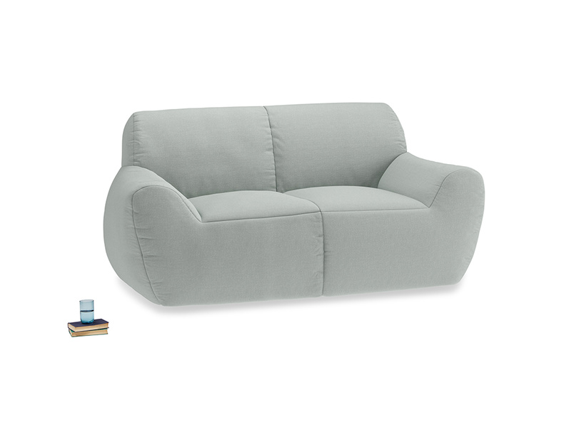 Layabout Sofa Squidger in French blue brushed cotton