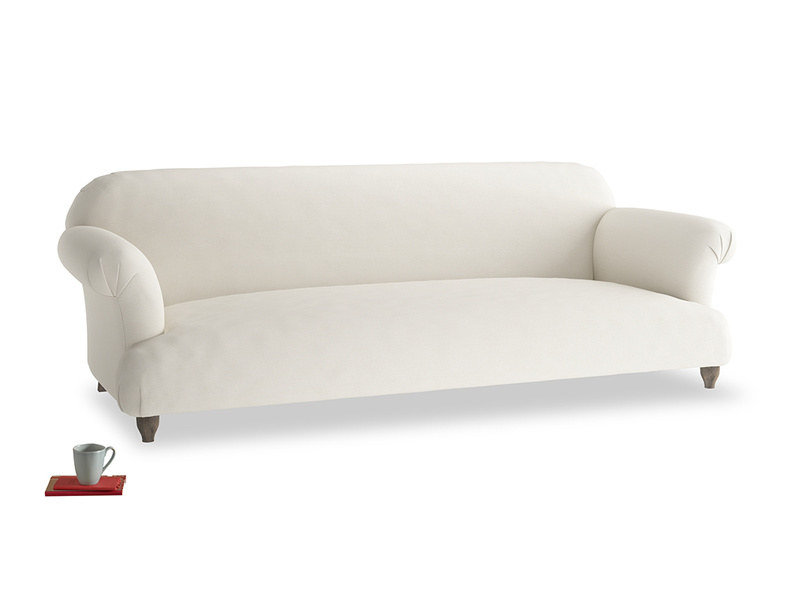 Extra large Soufflé Sofa in Chalky White Clever Softie