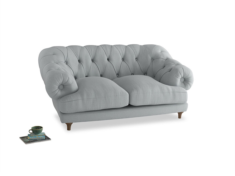 Small Bagsie Sofa in Gull Grey Bamboo Softie
