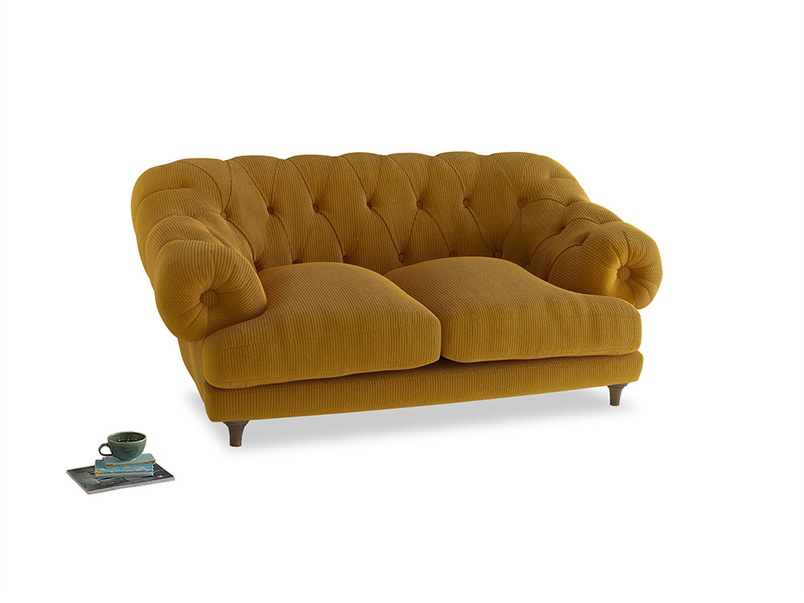 Small Bagsie Sofa in Saffron Yellow Clever Cord
