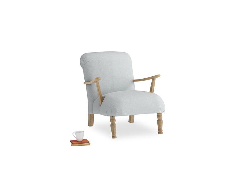 Brew Armchair in Gull Grey Bamboo Softie