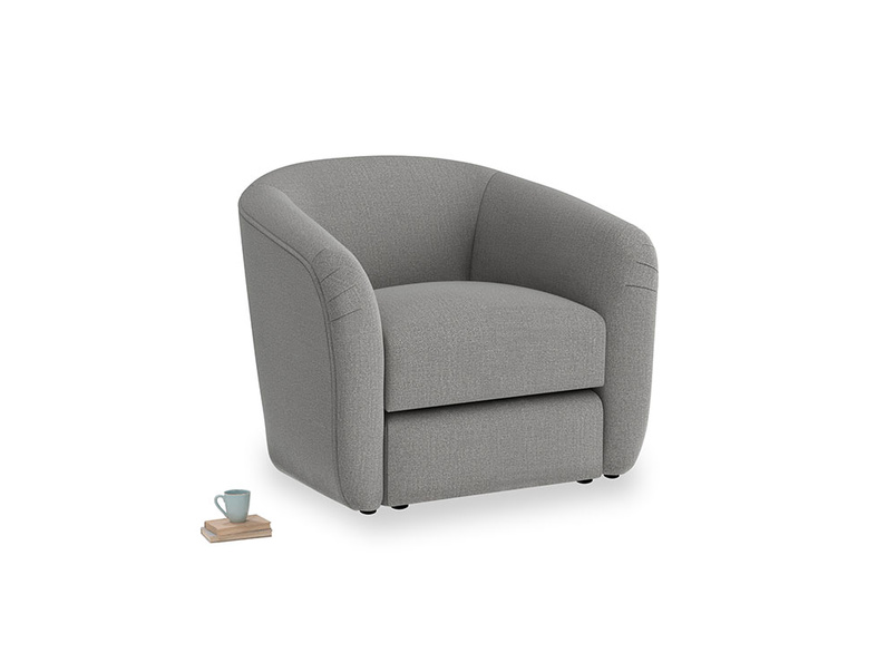 Tootsie Armchair in Cloudburst Bamboo Softie