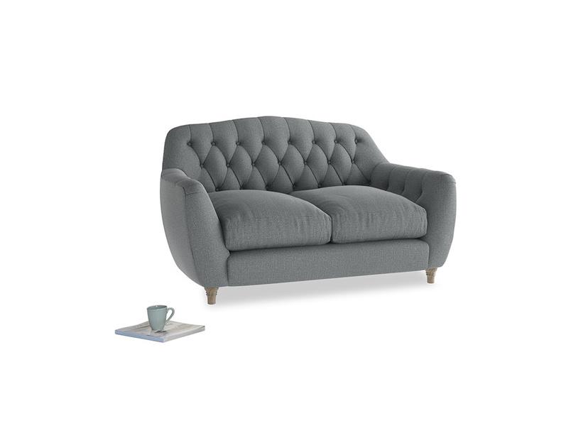 Small Butterbump Sofa in Cornish Grey Bamboo Softie