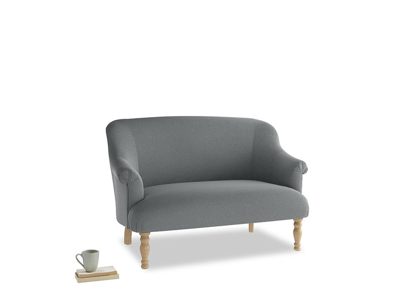 Small Sweetie Sofa in Cornish Grey Bamboo Softie