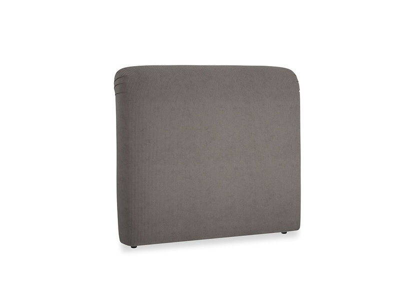 Double Cookie Headboard in Everyday Grey Clever Cord