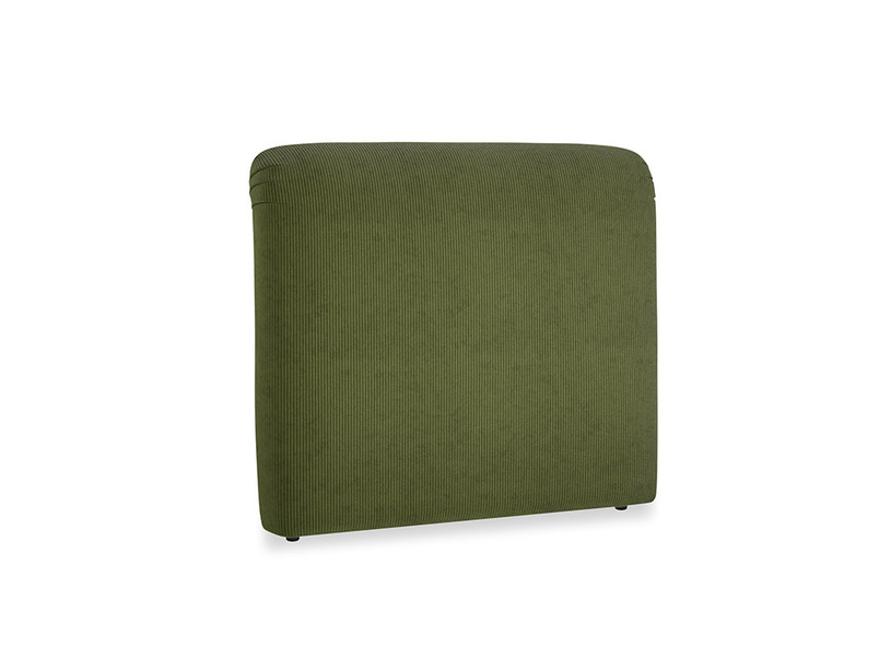 Double Cookie Headboard in Leafy Green Clever Cord