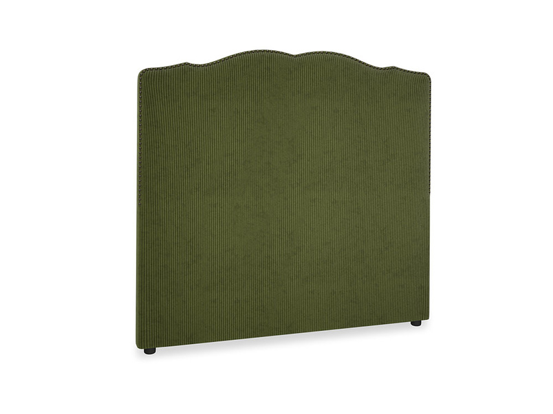 Double Marie Headboard in Leafy Green Clever Cord