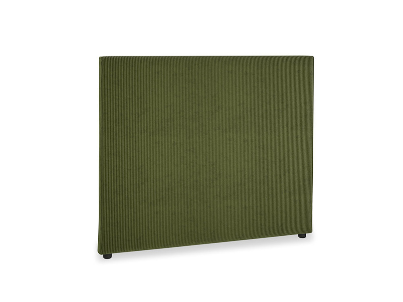 Double Piper Headboard in Leafy Green Clever Cord
