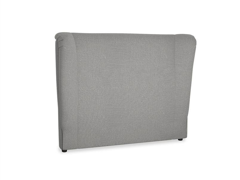 Double Hugger Headboard in Cloudburst Bamboo Softie