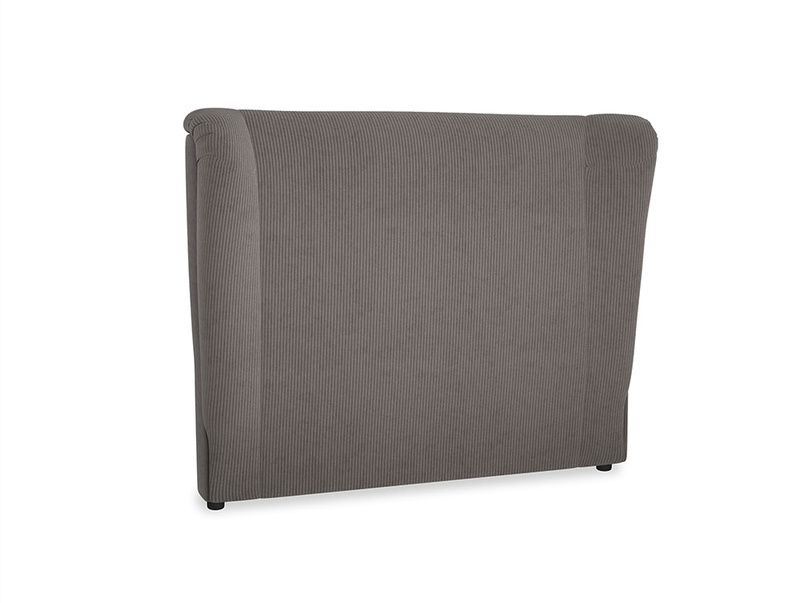 Double Hugger Headboard in Everyday Grey Clever Cord