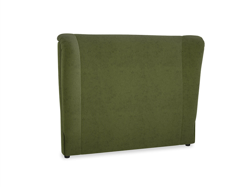 Double Hugger Headboard in Leafy Green Clever Cord