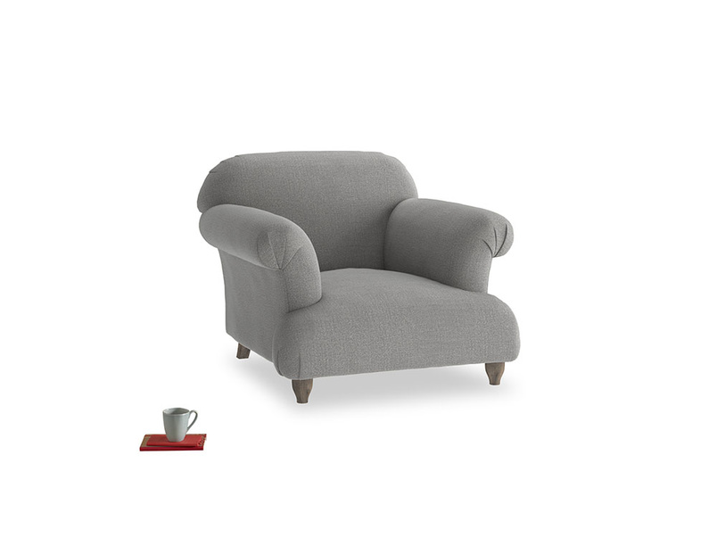 Soufflé Armchair in Cloudburst Bamboo Softie
