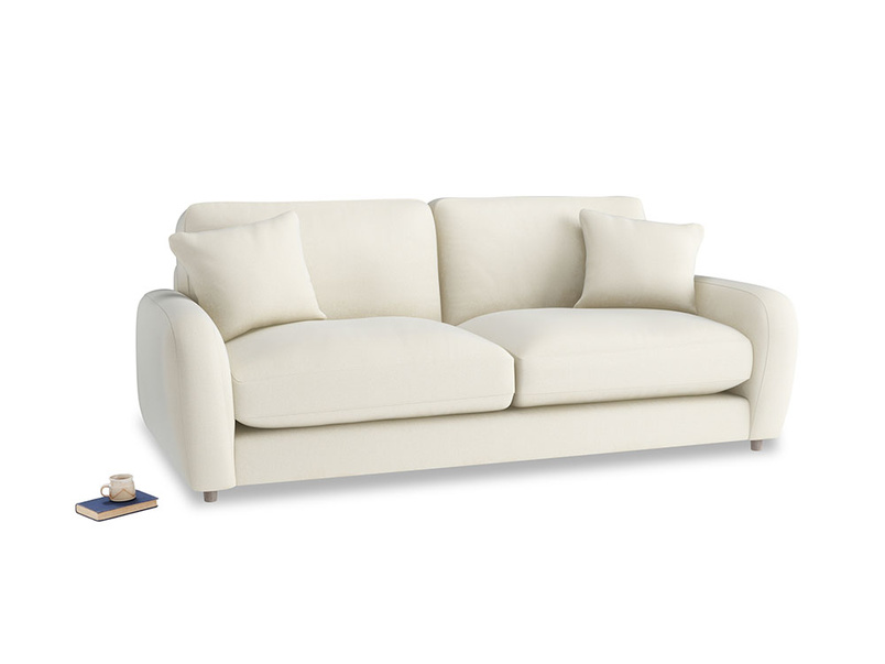 Medium Easy Squeeze Sofa Bed in Alabaster Bamboo Softie