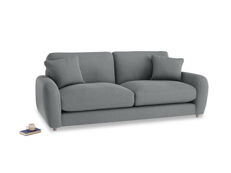 Medium Easy Squeeze Sofa Bed in Cornish Grey Bamboo Softie