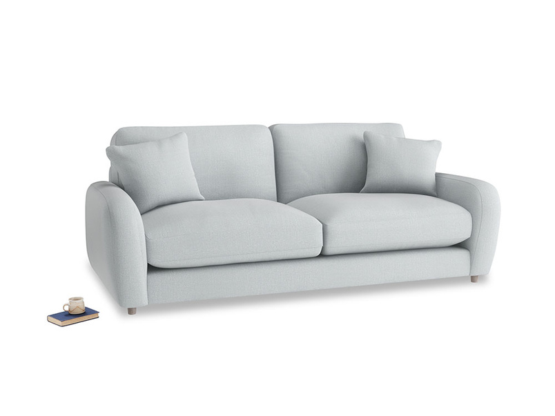 Medium Easy Squeeze Sofa Bed in Gull Grey Bamboo Softie