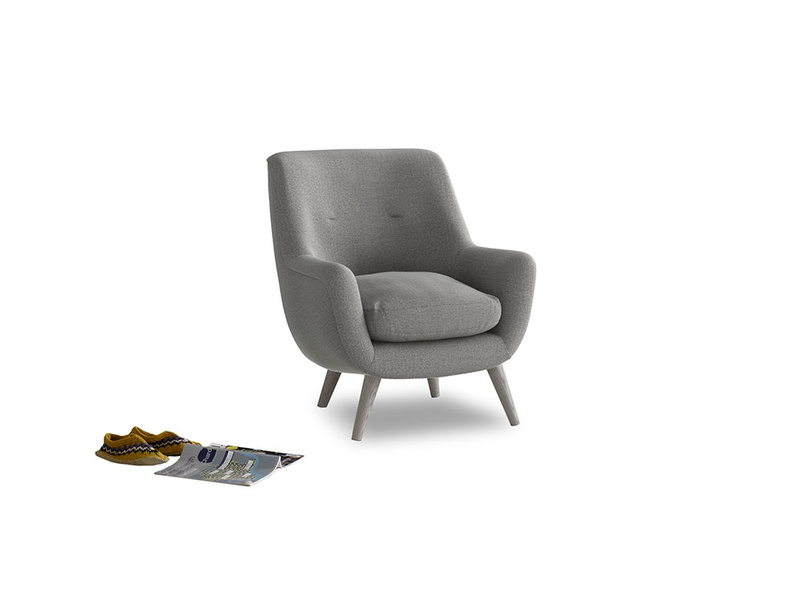Berlin Armchair in Cloudburst Bamboo Softie