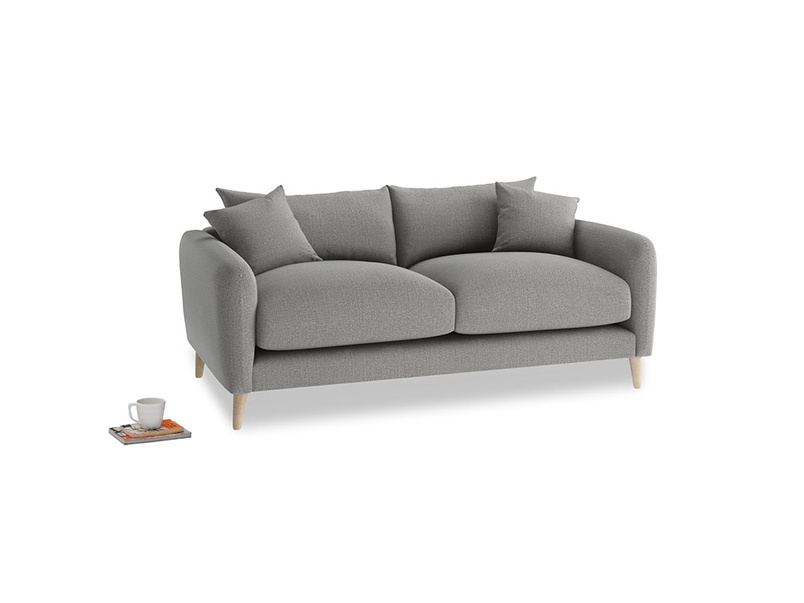 Small Squishmeister Sofa in Cloudburst Bamboo Softie