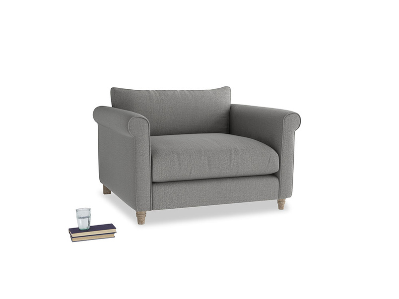 Weekender Love seat in Cloudburst Bamboo Softie