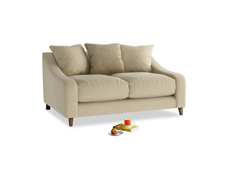 Small Oscar Sofa in Hopsack Bamboo Softie