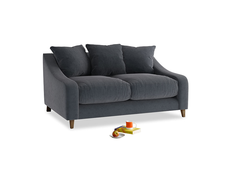 Small Oscar Sofa in Scandi grey Clever Cord