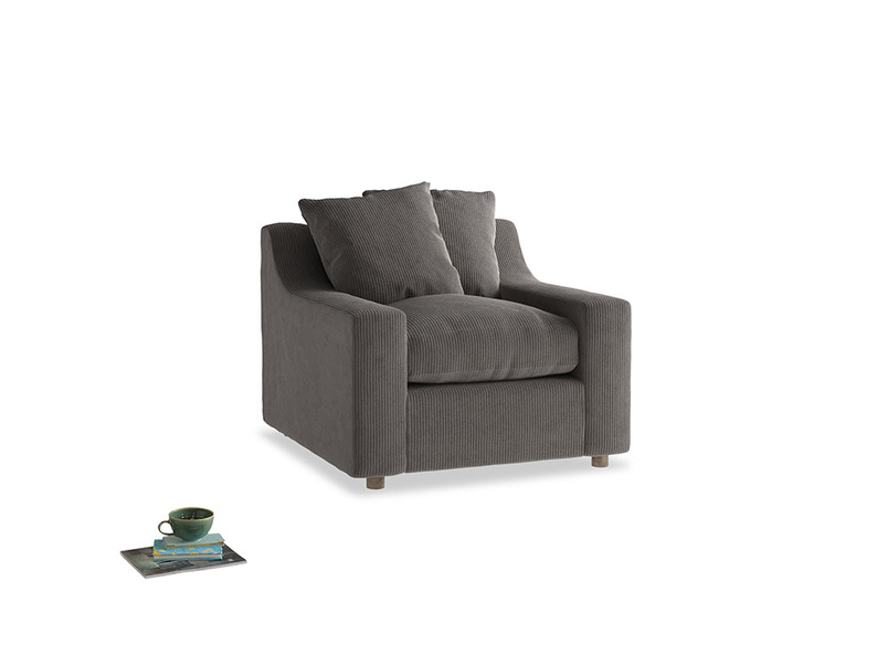 Cloud Armchair in Everyday Grey Clever Cord
