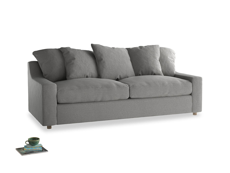 Large Cloud Sofa in Cloudburst Bamboo Softie