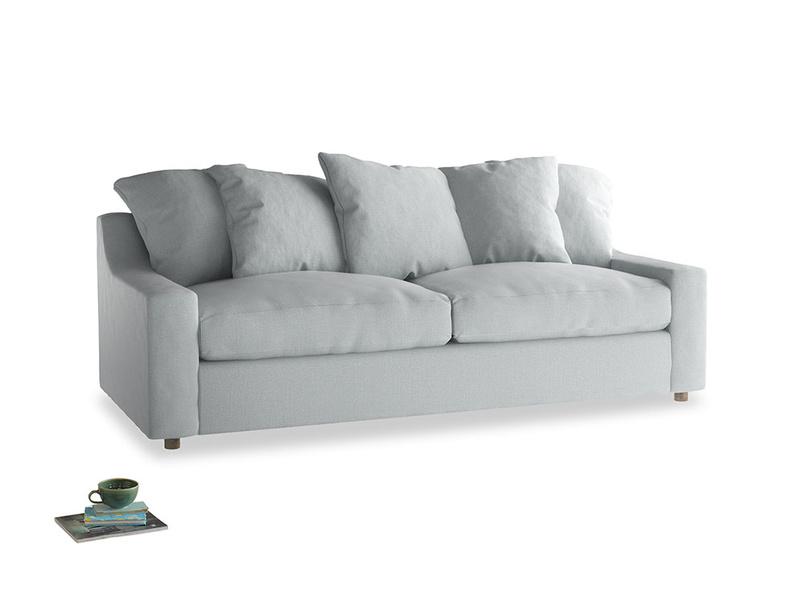 Large Cloud Sofa in Gull Grey Bamboo Softie