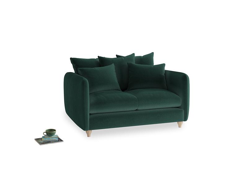 Small Podge Sofa in Dark green Clever Velvet