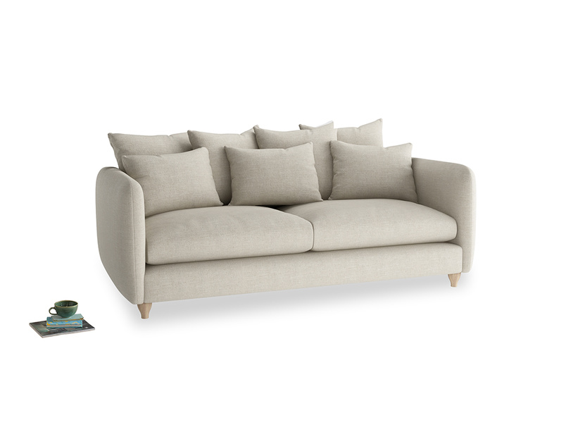 Large Podge Sofa in Thatch house fabric