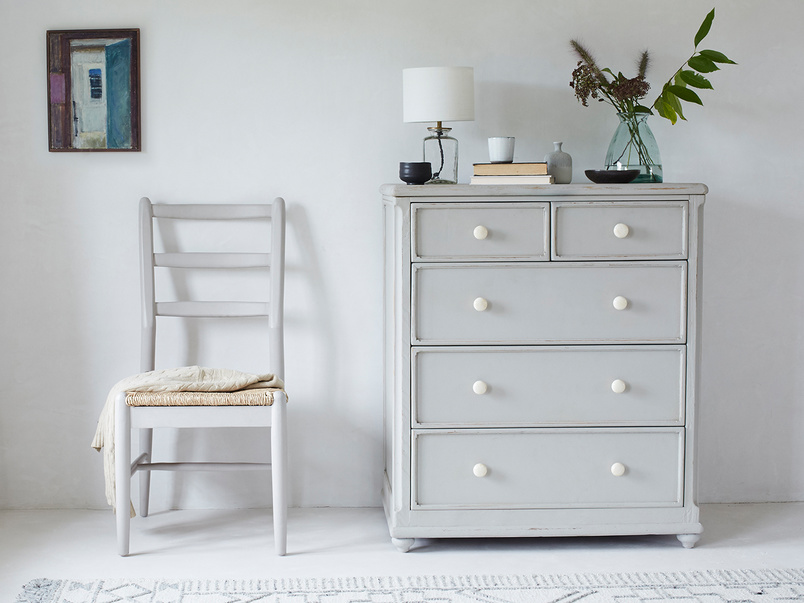 Popinjay grey bedroom drawers