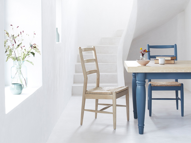Hobnob natural dining chair