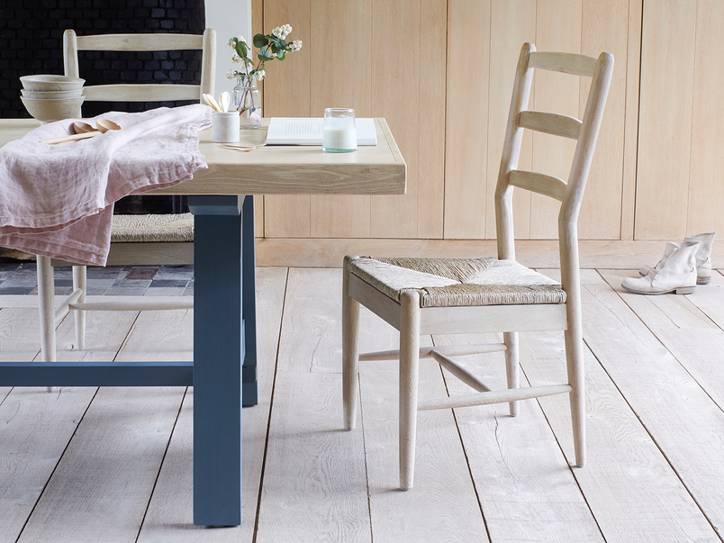 Hobnob natural farmhouse dining chair