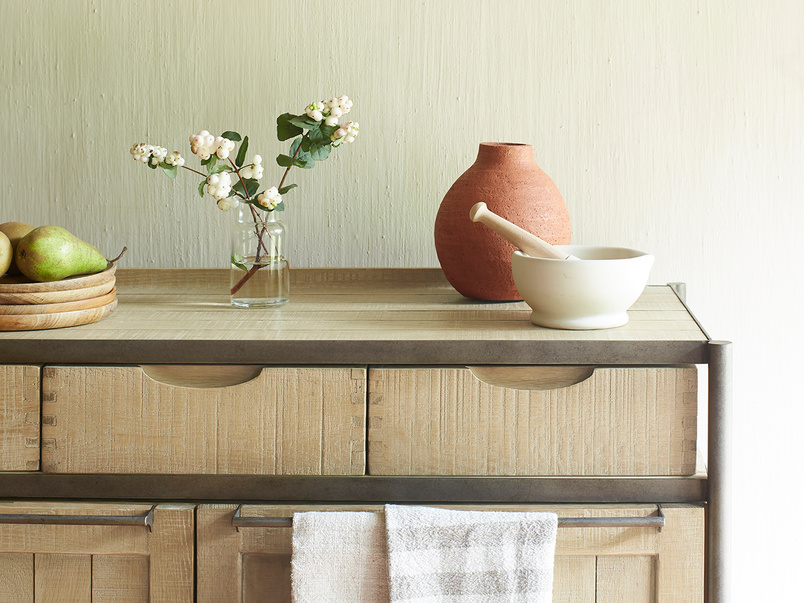 Servery wooden kitchen sideboard