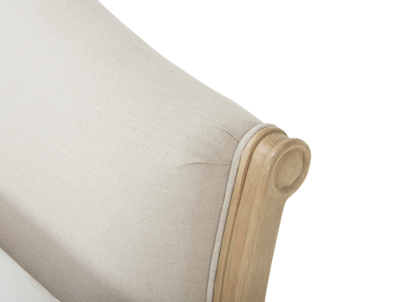 Fifi bed - fabric detailing