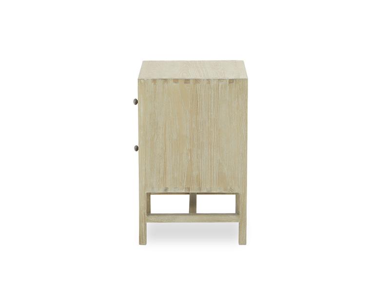 Little Willow small oak bedside table side