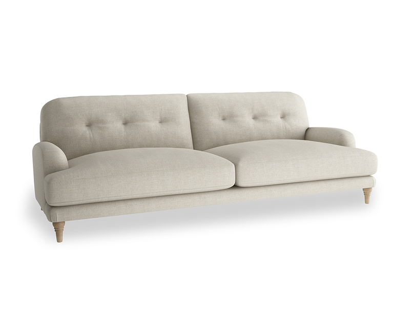 Extra large Sugar Bum Sofa in Thatch house fabric