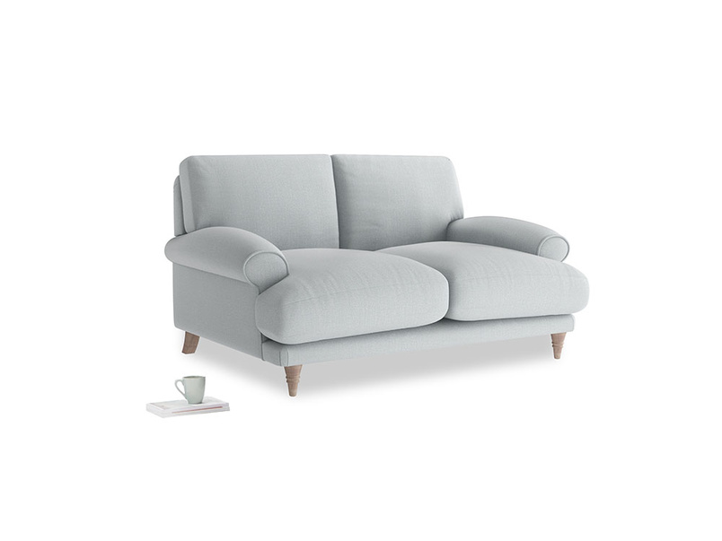 Small Slowcoach Sofa in Gull Grey Bamboo Softie