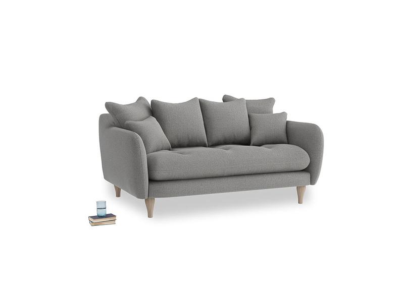 Small Skinny Minny Sofa in Cloudburst Bamboo Softie