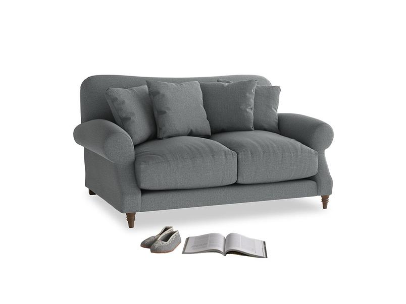 Small Crumpet Sofa in Cornish Grey Bamboo Softie